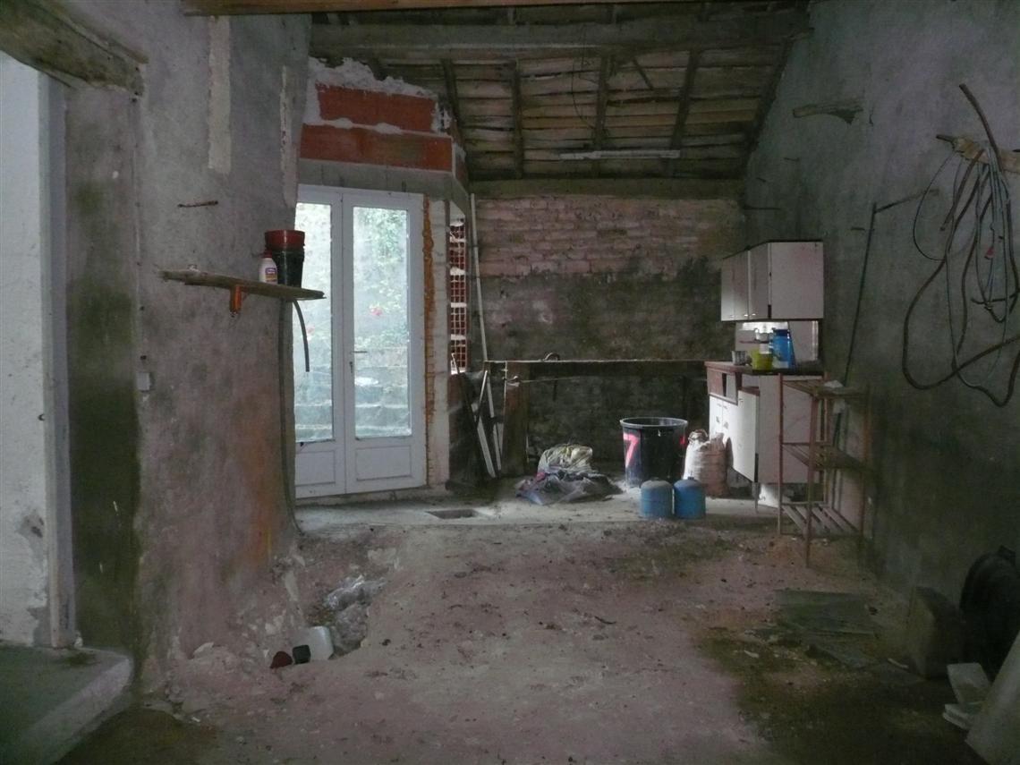 Maison de ville à restaurer