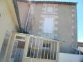 Maison charentaise avec cour fermée