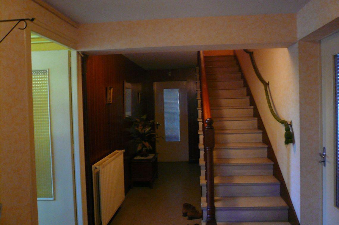 Belle maison sur sous-sol