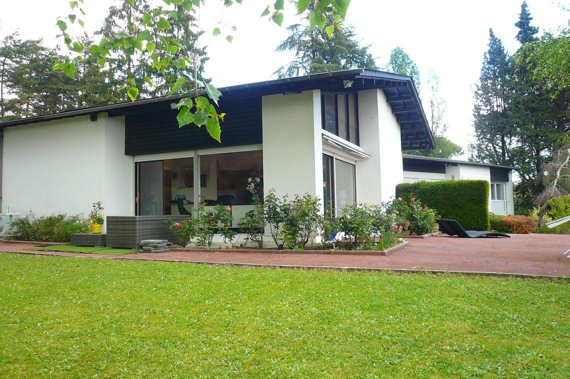 Exceptionnelle maison d'architecte