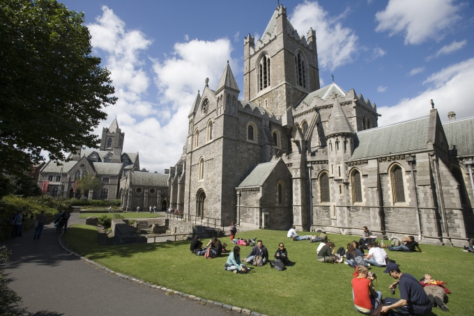 Un séjour linguistique en Irlande en groupe