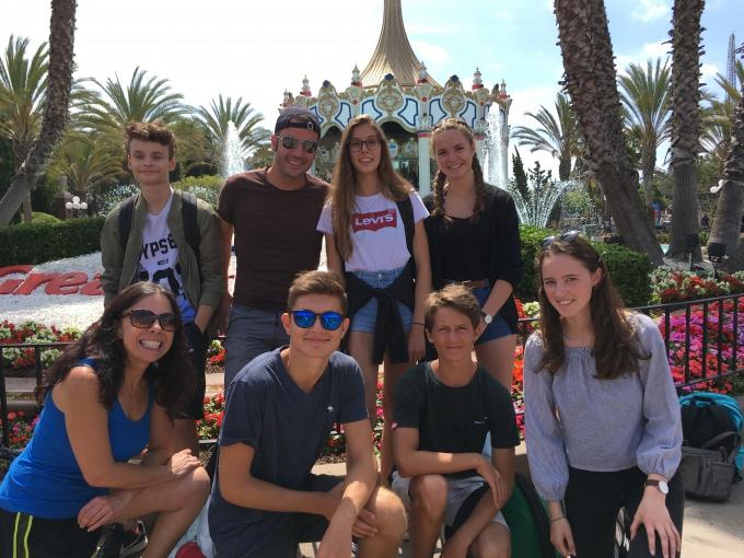 Une immersion aux USA en famille hôtesse